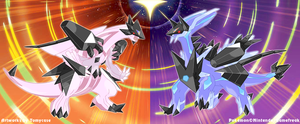 Necrozma Infection : Palkia and Dialga