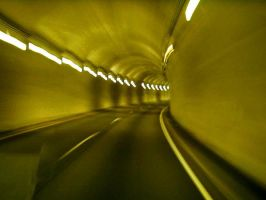 Inside the tunnel by djPhotos