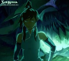 Korra Spirit Lights by SolKorra