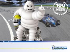 pissed of Michelin man by ChibiSwan