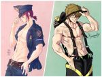 FREE! - Rin and Makoto by mortinfamiART