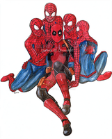 Guess who got 4 Spideys by muepin