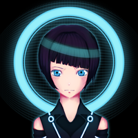 Quorra - Tron Legacy by CowniCorn