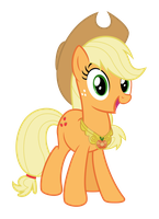 Applejack with the element of honesty by Martinnus1