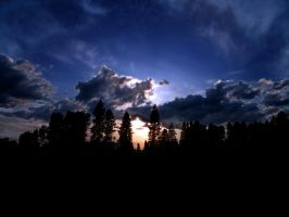 Sunset Background by rocamia-stock