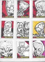 Mars Attacks! Sketch Cards #10 by mikehampton