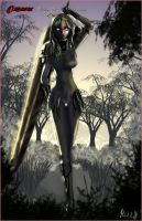 Teresa Of the Faint Smile by orochi-rob