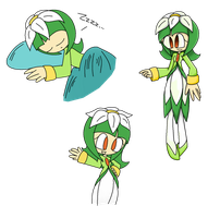 Plasma the Unused Seedrian by laurenbaker0508