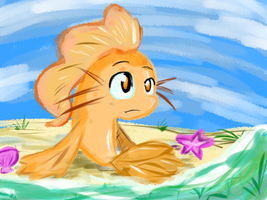 A Koi out of Water by LuckyGreen7