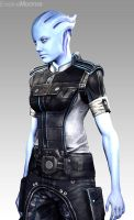 Worker Asari by EvelineMonroe