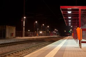 Train station 001 by ISOStock