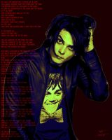 Gerard Way Pop Art by FFgeek97116