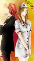 Ron and Hermione by muhamir