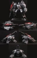 Custom WFC Megatron by Solrac333