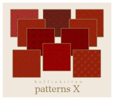 patterns X by koffiekitten