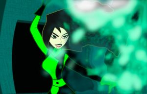 Shego In Action by FitzOblong