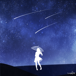 Meteor Shower by MisterShiroi