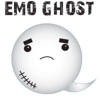 Emo Ghost by EsperAqua