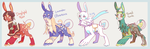 Louxe Batch 4. Auction [CLOSED] by KeyboardMjolk