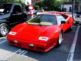 Lamborghini Countach by Joseph-W-Johns