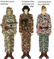 Warsaw Pact Early Camos by Adyb234