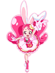 Usami Ichika ( Cure Whip) by Smileverse