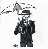 Under the Umbrella by Cervelliere