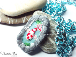 Polymer Clay -Koi fish by Crystarbor