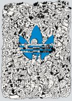 Adidas doodle design by RedStar94