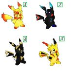 new pika adoptables closed by Pikachim-Michi