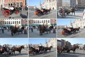 Horse and Cart 1 by Tasastock