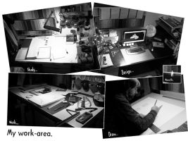 My work-area by Effimos