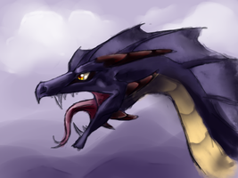 Dragon Speedpaint by Loftwing
