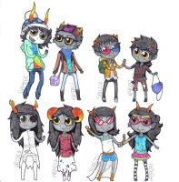 Have some Trolls by OutskirtsOfInsanity