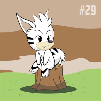 30 Day challenge! - No 29 - White Fox by BranchDesigns