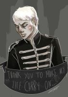 The black parade is not dead in heart by GPinos
