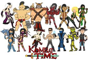 Kombat time! by thelimeofdoom