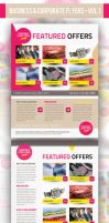 Business Corporate Product Flyer PSD Templates by ShermanJackson