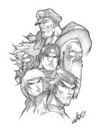 Street Fighter Tribute by StudioGoetia