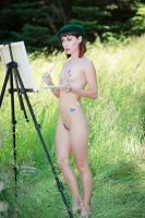 The Nude Artist by Mac--Photo