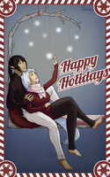 Unlock Happy Holidays by sampdesigns