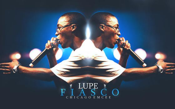 Lupe Fiasco wall by Keato90
