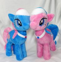 Spa Sisters Plushies by Cryptic-Enigma