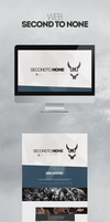 Web desing for secondtonone esport club by M3NII