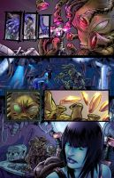 RAINE issue1 pg3 COLORS by FableBound