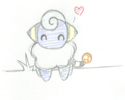 puny mareep by Snookie