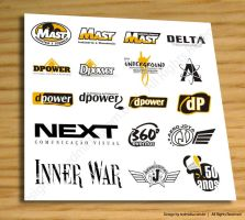 Logos samples 2006-2007 by lucaumredmidia