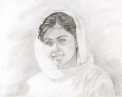 Malala the brave by 666heavymetal88