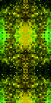 Green 'N' Yellow Pixels [With Stars] by darkdissolution