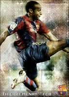 Thierry Henry - FCB Barcelona by facundoagustin
